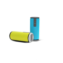 Customised Cylinder Waterproof Bluetooth Wireless Mini Portable Speaker